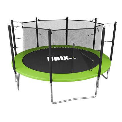Батут UNIX line Simple 12 ft Green inside