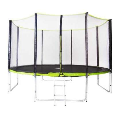 Батут Fitness Trampoline GREEN 12 FT Extreme